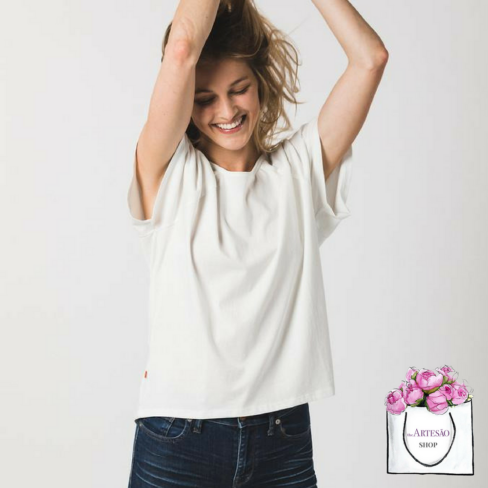 Women's Raglan Crew, made from 100% premium Pima cotton, signed by the maker, $30