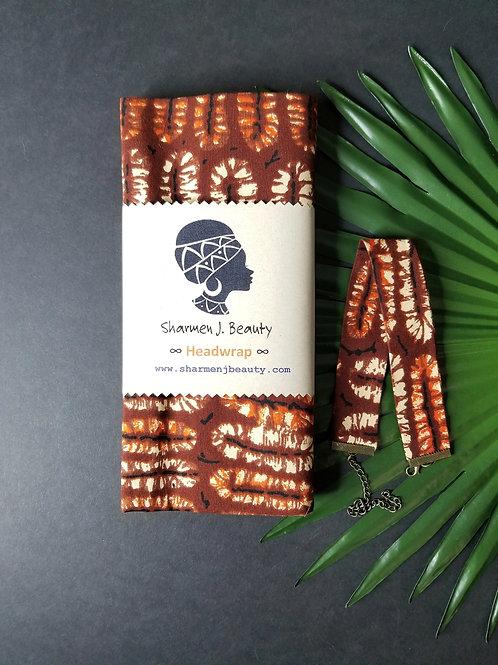 Cocoa Headwrap/Choker