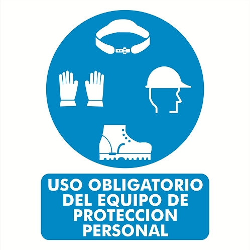 Uso Obligatorio del Equipo de Protección Personal
