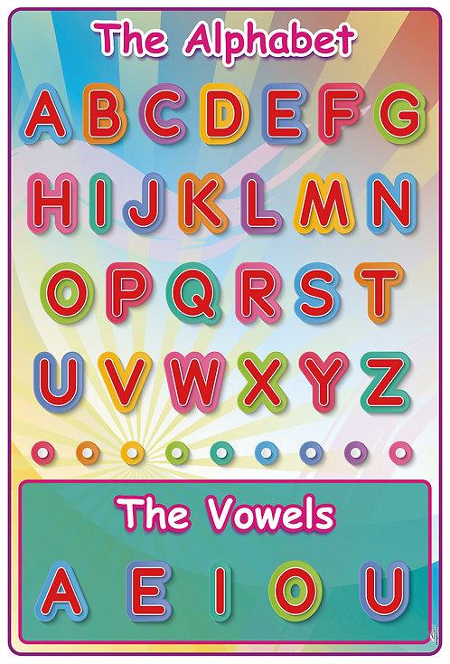 Poster The Alphabet