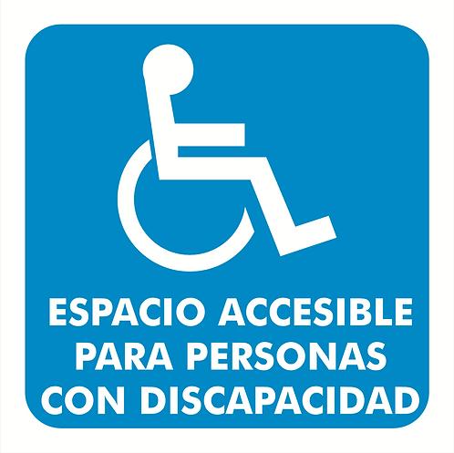 Espacio Accesible para Personas con Discapacidad