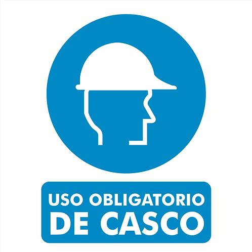Uso obligatorio de Casco