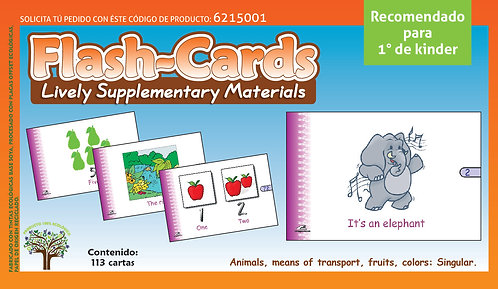 Flash-cards En Inglés Recomendado Para Edades 3+