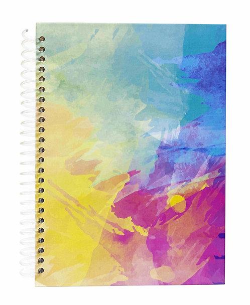 Agenda Diaria Fusión de Colores