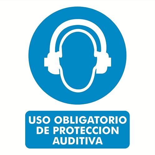 Uso Obligatorio de Protección Auditiva