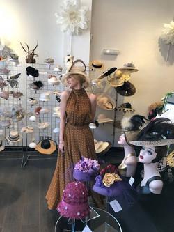 Natacha Arranz Hats with Olga Stepp
