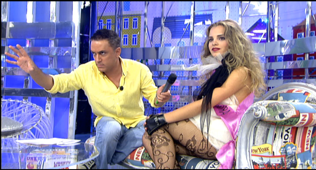 "Lady Spain in ""Salvame"" TV Show"