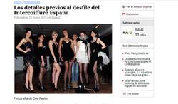 Fashion show Intercoiffure Spain