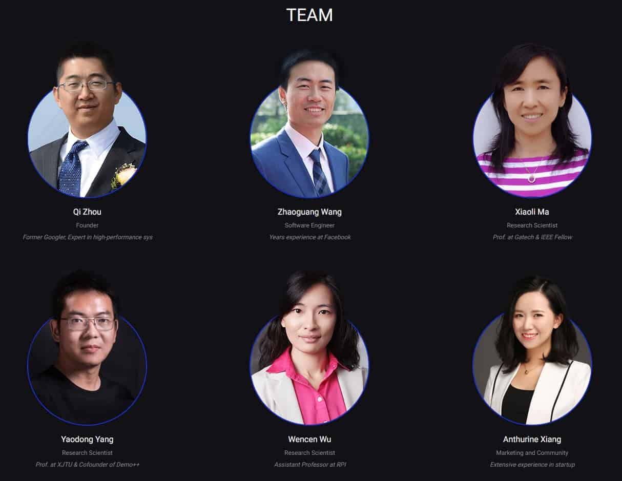 quarkchain team members