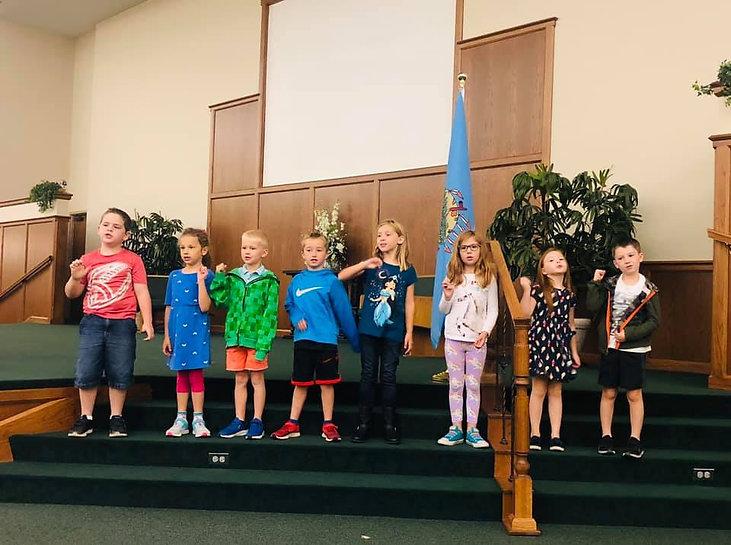1st grade leading chapel.jpg