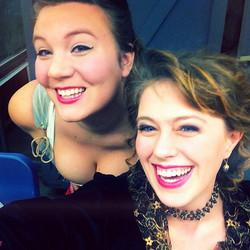 Fun backstage in Carmen