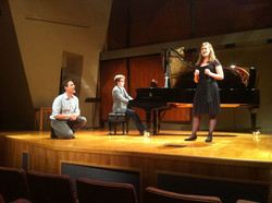 In masterclass with Jake Heggie