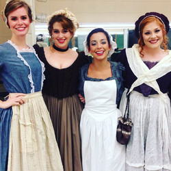 The maids of Seville