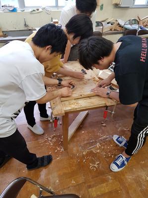 H Miller Bros | Japanese design expert Hugh Miller travels to Japan to teach furniture making