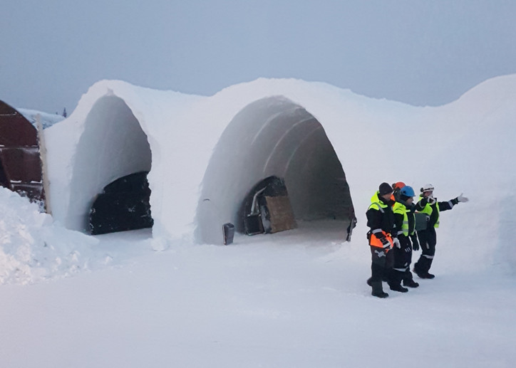 H Miller Bros | Hugh and Howard Miller win design competition to design Art Suite for IceHotel Sweden