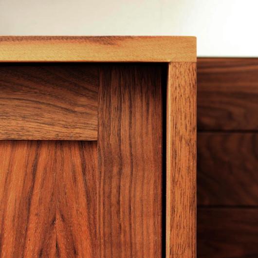 H Miller Bros   Luxury walnut hardwood kitchen cabinet   Manchester, Cheshire, Liverpool, Wirral, North Wales