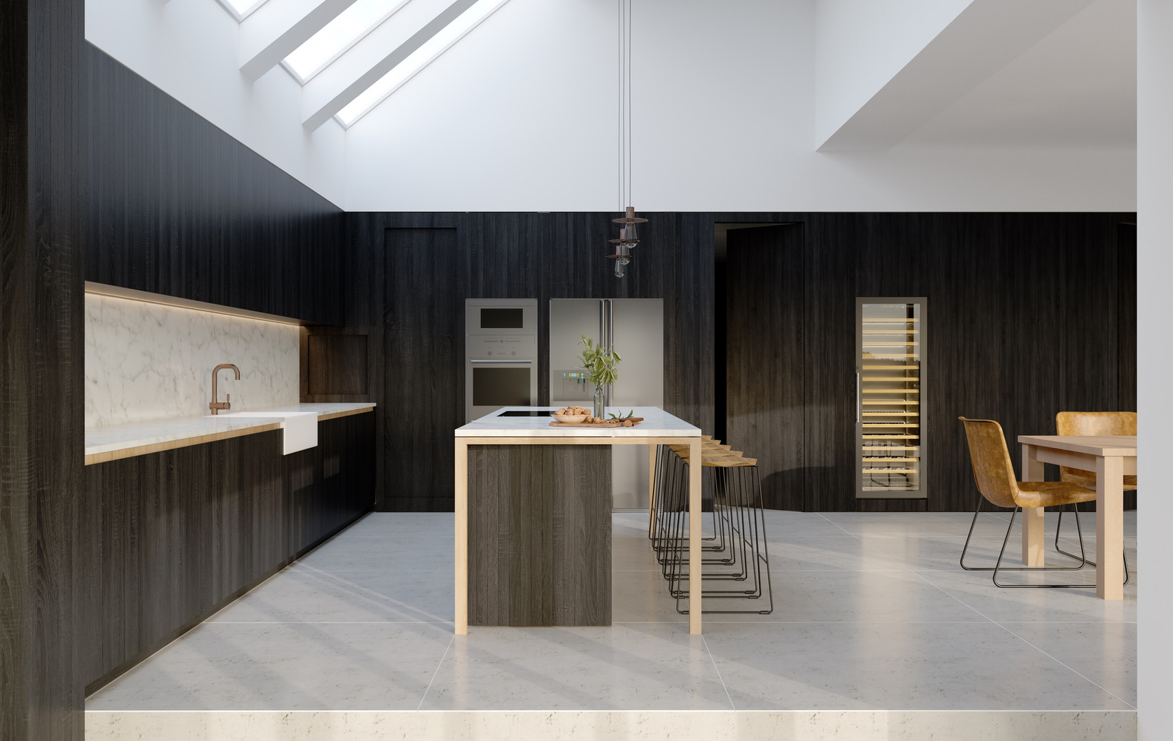 H Miller Bros | Luxury Islington kitchen, handmade in solid hardwood