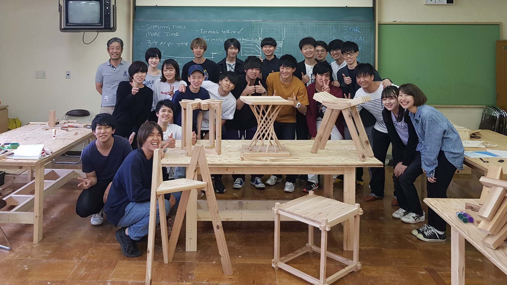 STOOL MAKING IN JAPAN