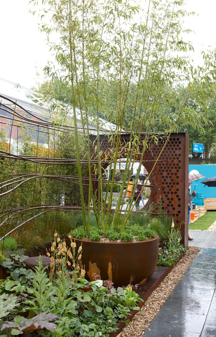 H Miller Bros | Howard Miller designs gold-medal winning Dark Matter garden at RHS Chelsea Flower Show