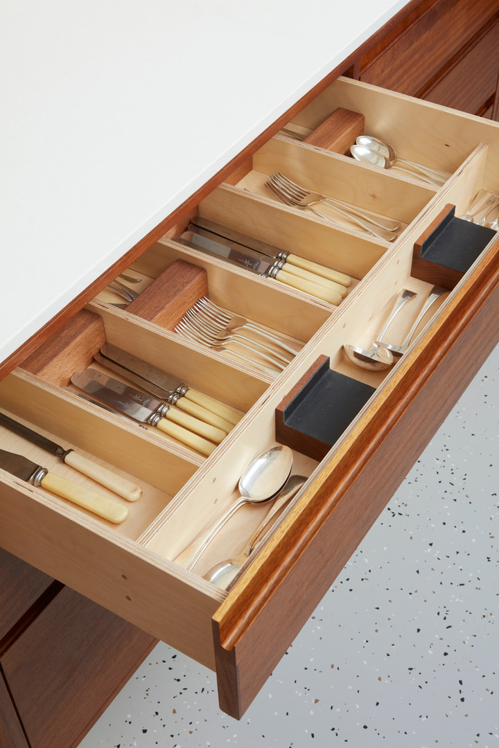 H Miller Bros | Luxury kitchen makers | handmade kitchen drawer linings | Liverpool, Manchester, Cheshire, and Wirral