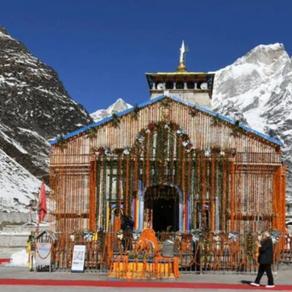 चारधाम यात्रा: केदारनाथ धाम के खुले कपाट, प्रधानमंत्री नरेंद्र मोदी के नाम से हुई पहली पूजा