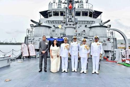 भारतीय नौसेना में लैंडिंग क्राफ्ट यूटिलिटी एल -56 कमीशन
