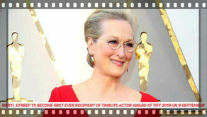 Meryl Streep to become first ever recipient of Tribute Actor Award at TIFF 2019 on 9 September