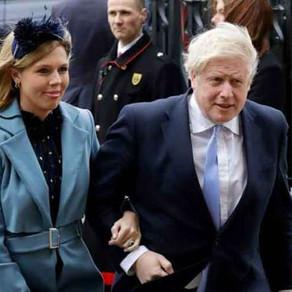 ब्रिटिश पीएम बोरिस जॉनसन और उनकी मंगेतर के एक लड़का हुआ है।