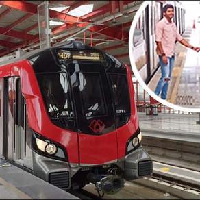 दिल्ली मेट्रो के बाद अभिमन्यु दसानी की फिल्म 'निकम्मा' बॉलीवुड में दिखेगी आप को लखनऊ मेट्रो