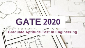 GATE 2020 Exam Notification