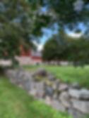 Bild på delar av gården