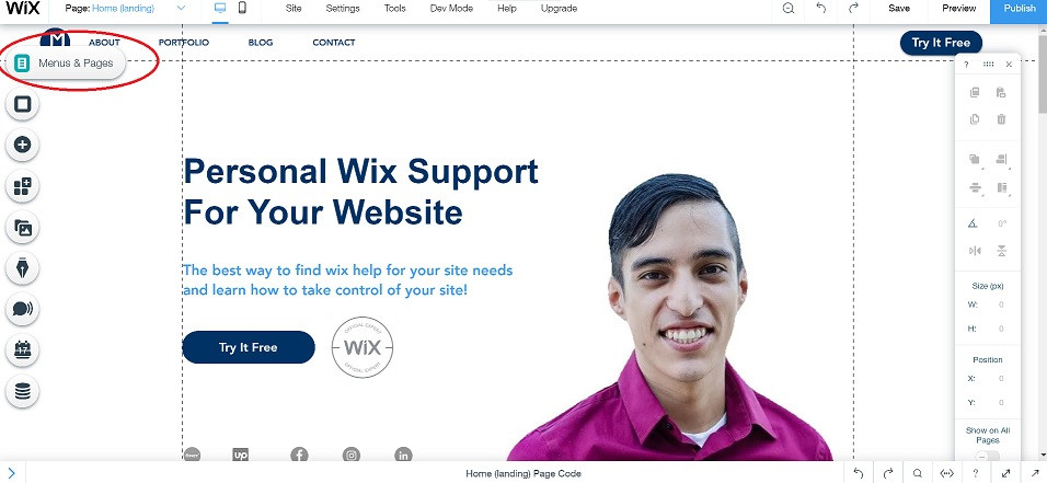 Wix-seo-menu-and-pages