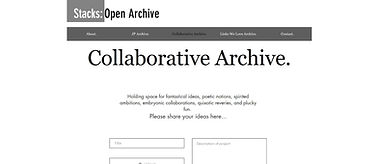 Stacks: Open Archive