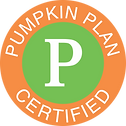 Pumpkin Plan Certified Badge Small redes