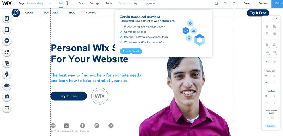 Wix-developer-tools