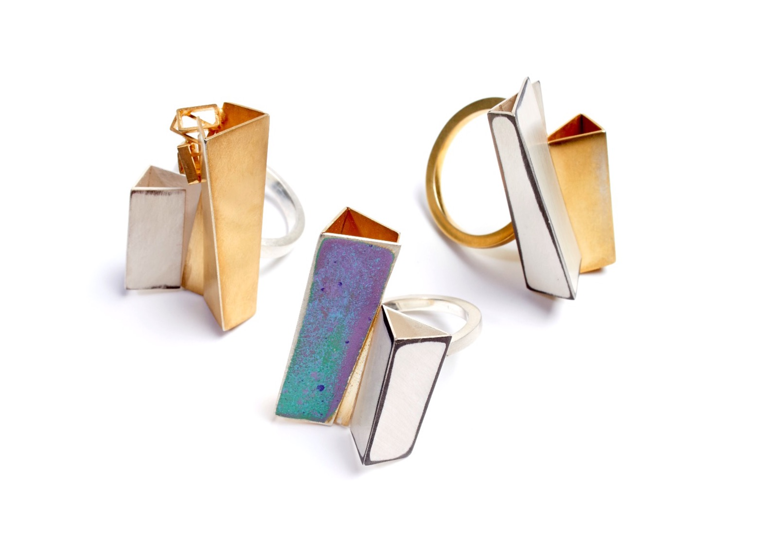 Architectural Riveted Rings