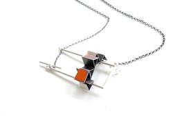 Sliding Multi-Fold Necklace