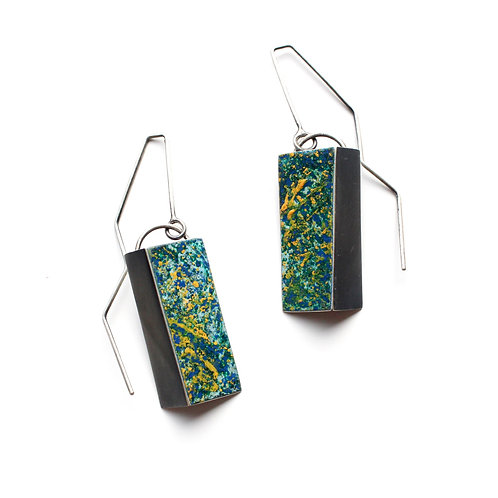 COLOUR DROP FOLD EARRINGS