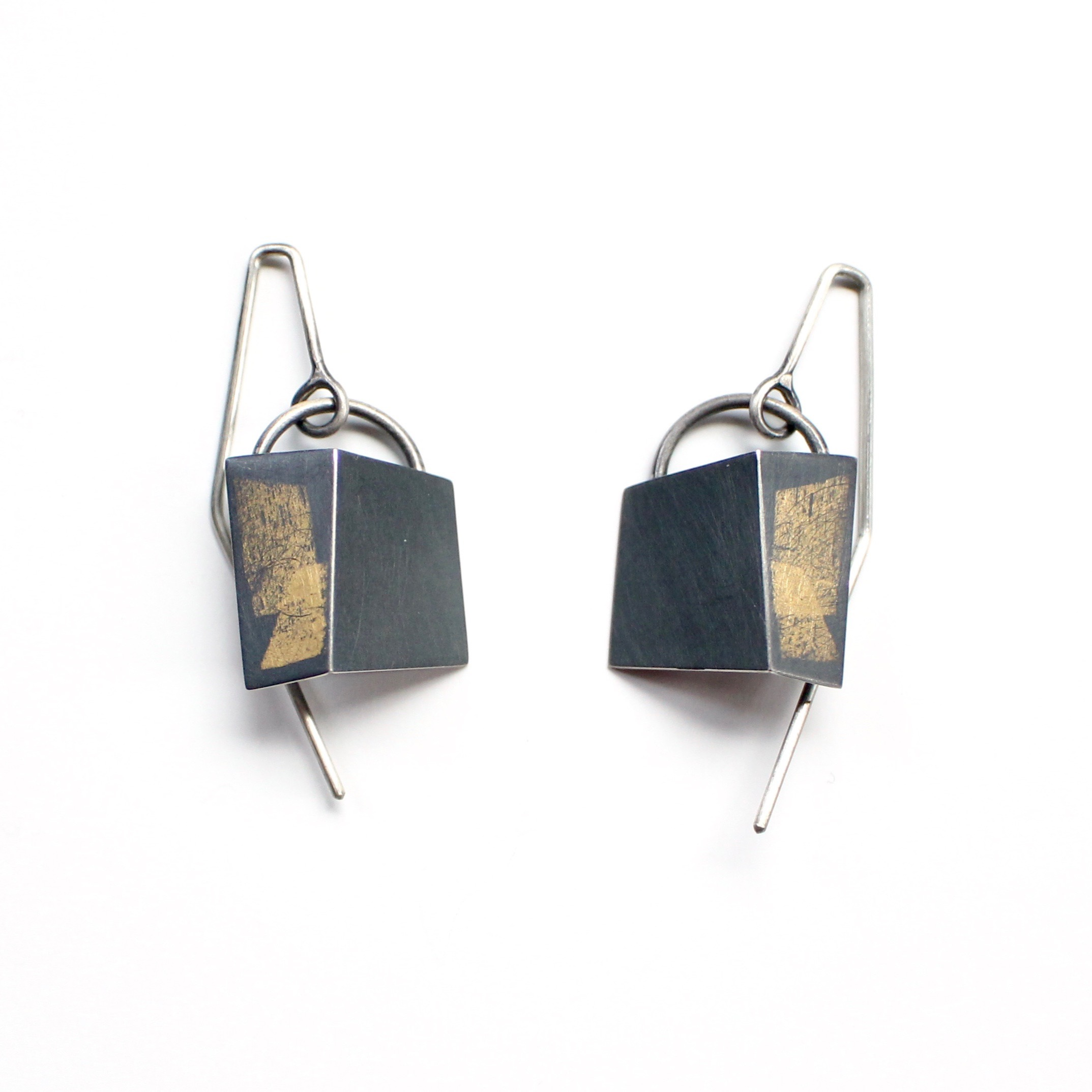 Small Drop-Fold Earrings
