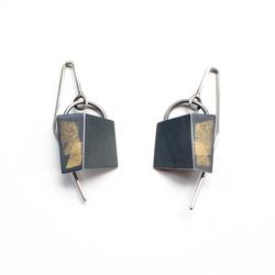 Small Drop-Fold Earrings
