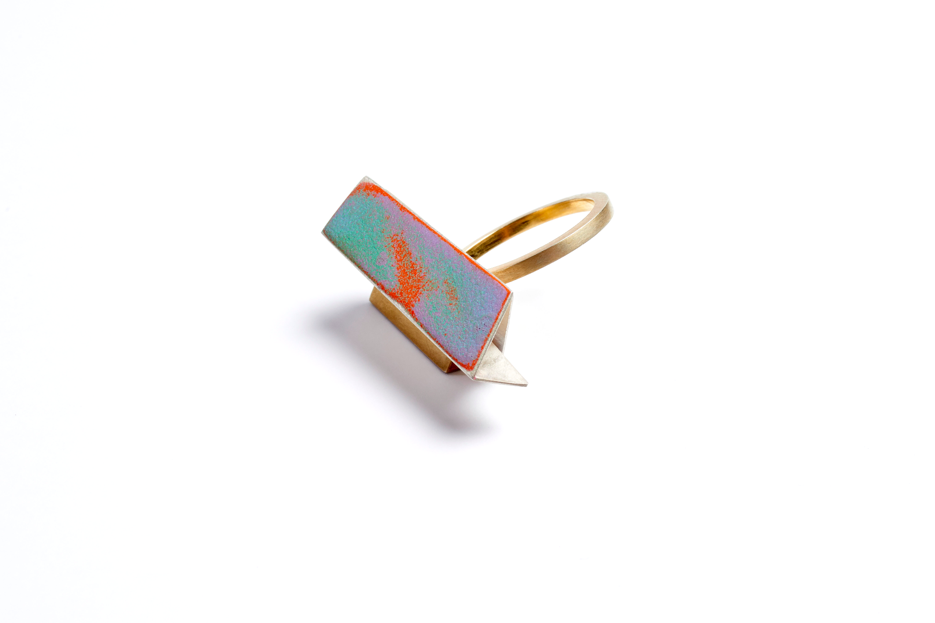 Architectural Riveted Ring