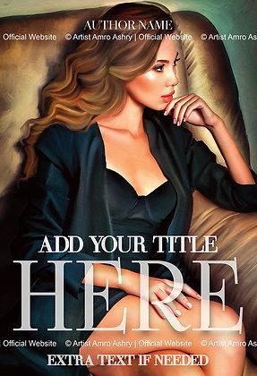 Romance Book Cover Illustration