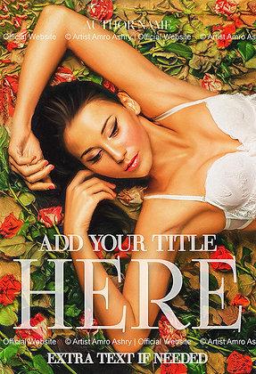 Erotic Book Cover Illustration   Premium