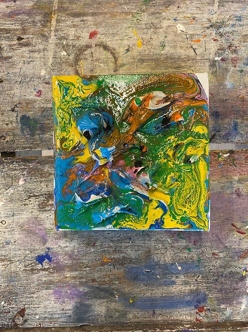 Abstract Mini Canvas #20
