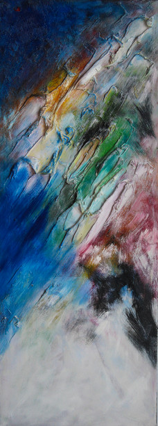 HSW I 48x18 Oil on Canvas