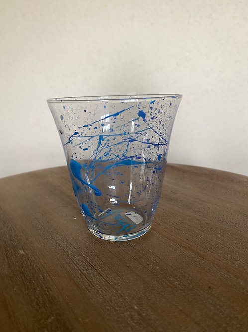 Painted Glass Cup #9