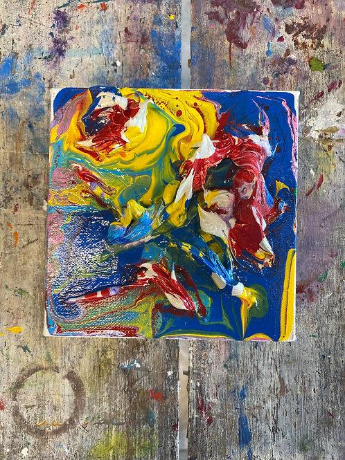 Abstract Mini Canvas #16
