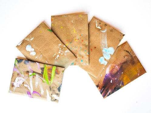 Hand Painted Envelopes #6