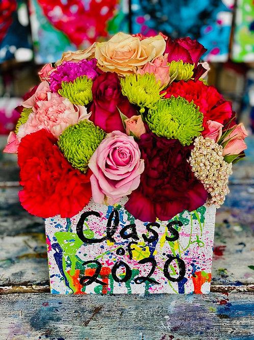 Graduation Floral Arrangement- Medium