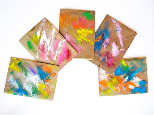 Hand Painted Envelopes #8